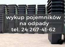Informacja dotycząca możliwości wykupu pojemników (koszy) na odpady komunalne